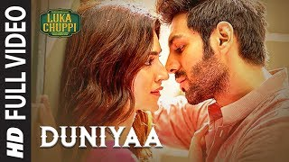 Download Luka Chuppi: Duniyaa Full Video Song | Kartik Aaryan Kriti Sanon | Akhil | Dhvani B Video