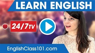 Download Learn English 24/7 with EnglishClass101 TV Video