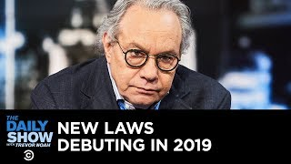 Download Back in Black - New Laws Debuting in 2019 | The Daily Show Video