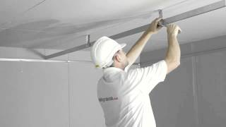 Download How to install and MF plasterboard ceiling Video