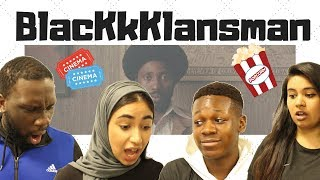 Download British People React/Review BLACKkKLANSMAN - Official Trailer Video