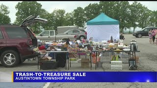 Download Austintown holds Trash to Treasure sale to save up for Night Out event Video