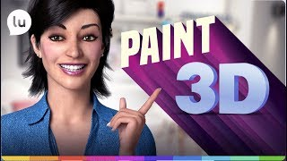 Download Paint 3D, como usar? - Canal da Lu - Magalu Video