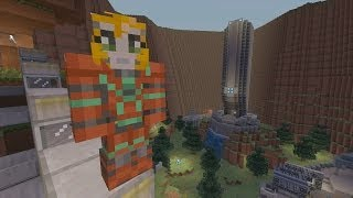 Download Minecraft Xbox - Halo Hunger Games Video