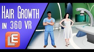 Download Why hair loss? 360° VR Commercial. Video