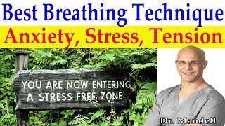 Download 💪👃Powerful Breathing Technique for Anxiety, Stress, Insomnia, Pain - Dr Alan Mandell, DC Video
