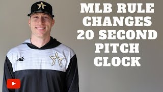 Download MLB Rule Changes 2019 - 20 Second Pitch Clock Video
