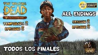 Download The Walking Dead Temporada 2 Episode 5 Todos los Finales   Solo, Jane, Kenny, Wellington All Endings Video