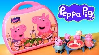 Download Peppa Pig Carry Case Pizzeria Playset Pizza Shop Toys Video