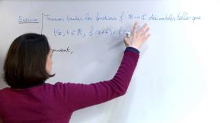 Download Exercice 2 (Equations différentielles) [06992] Video