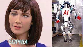 Download Cute Sophia smile || Boston dynamics AI robots 2018 || Future of Humanity Video
