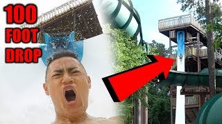 Download RIDING INSANE WATERSLIDES **100 FOOT DROP** Video