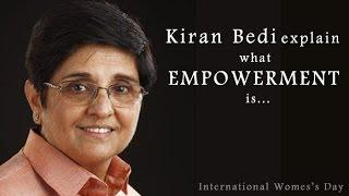 Download Kiran Bedi explain what empowerment is : NewspointTV Video