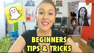 Download SNAPCHAT: BEGINNERS TIPS & TRICKS Video