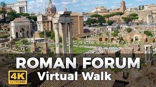 Download Roman Forum Walking Tour in 4K Video