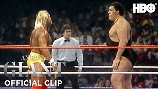Download Hulk Hogan vs. Andre The Giant WrestleMania III WWE' Official Clip | Andre The Giant | HBO Video