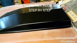 Download How to install hood scoop step by step Video