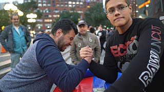 Download CAN YOU BEAT THIS SCHOOLBOY AT ARM WRESTLING ? Video