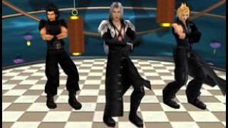Download [MMD] - Gangnam Style - FFVII - Sephiroth, Cloud & Zack Video