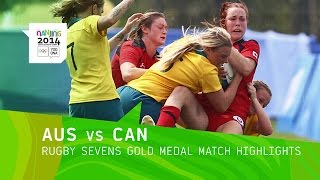 Download Australia Wins Women's Rugby Sevens Gold - Highlights | Nanjing 2014 Youth Olympic Games Video