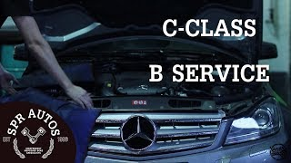 Download S.P.R Autos - Mercedes C Class B Service Video