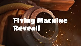Download Clash Royale: FLYING MACHINE (New Clash Royale Card!) Video