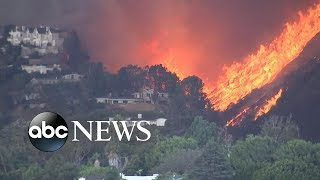 Download California declares state of emergency; entire city of Malibu evacuated Video