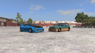Download TUNERS VS RICERS | BeamNG drive Parody Video