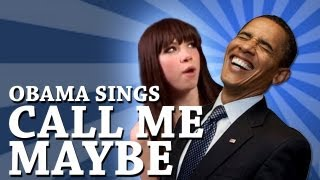 Download Barack Obama Singing Call Me Maybe by Carly Rae Jepsen Video