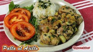 Download POLLO AL AJILLO super delicioso y muy fácil Video