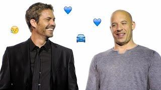 Download Vin Diesel a prénommé sa fille en hommage à Paul Walker Video