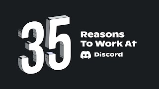 Download 35 Reasons to Work at Discord Video