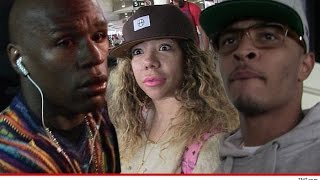 Download Floyd Mayweather Flexes on T.I. with a $100 mil Check & leaks Vid w/ Tiny after He Laughs at him. Video