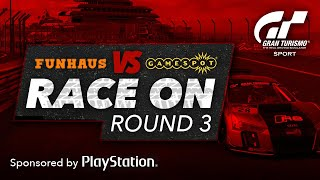 Download Gran Turismo's Sport Race On - Funhaus Vs GameSpot: Round 3 Video