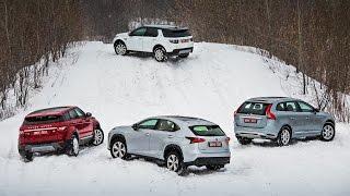 Download Lexus NX, Volvo XC60, Evoque, Disco Sport — групповой тест Video