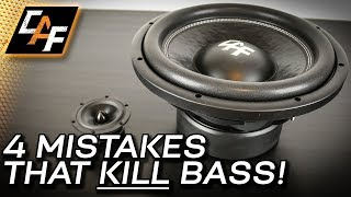 Download 4 Mistakes that Kill Bass - Car Audio Subwoofer Improvements! Video
