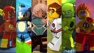 Download ALL Speedsters from Lego Videogames Video