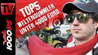 Download Top 5 - Weltenbummler Bikes unter 4000 Euro - Gebrauchtmotorrad Beratung Reisemotorrad Video