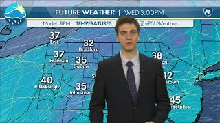 Download Mike's Tuesday Evening Forecast 12-05-17 Video