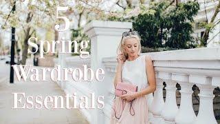 Download 5 Spring Wardrobe Essentials 🌸 2017 Lookbook | Fashion Mumblr Video