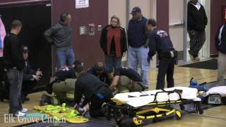 Download Pleasant Grove High School player knocked unconscious during basketball game Jan. 6, 2010 Video