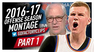 Download Kristaps Porzingis Offense & Defense Highlights Montage 2016/2017 (Part 1) - NY All-Star! Video