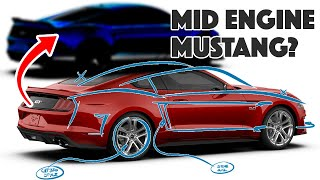 Download Designer creates MID-ENGINED Ford Mustang - C8 competitor? Video