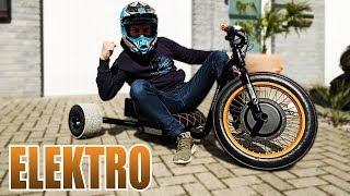 Download DAS BESTE ELEKTRO DRIFT-TRIKE ALLER ZEITEN! | Driftwerk Trike BOLT Review - Test [Deutsch/German] Video