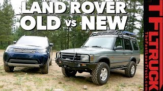 Download Old vs New Land Rover Discovery: Can Old Gear Beat New Tech on Gold Mine Hill? Video