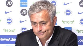 Download Brighton 3-2 Manchester United - Jose Mourinho Full Post Match Press Conference - Premier League Video