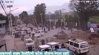 Download Live earthquake footage from opposite Kathmandu mall Video