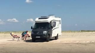 Download 🇩🇰Hymer-MLT 580-4x4-Allrad-Strand-Dänemark 🇩🇰 Video
