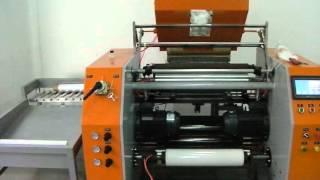 Download Fully automatic pre stretch film rewinding machine Video