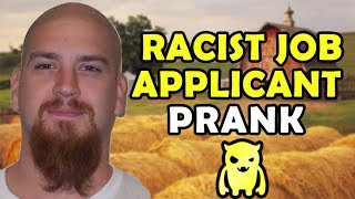 Download Racist Job Applicant Prank - Ownage Pranks Video